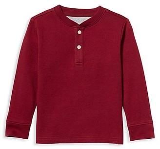 Janie and Jack Baby's, Little Boy's & Boy's Henley Top