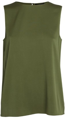 Theory Straight Shell Tank Top