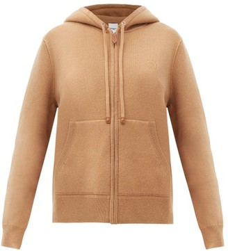 Burberry Argun Cashmere-blend Hooded Sweatshirt - Camel