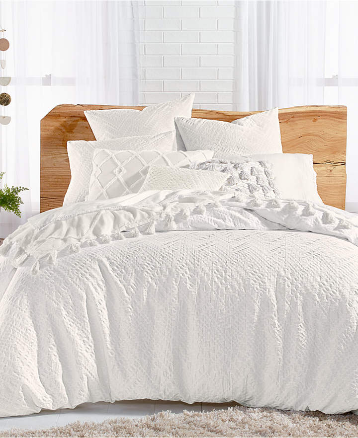 Lucky Brand Taos Cotton 3-Pc. Matelasse King Duvet Cover Set