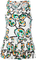 Marni whisper print tank top