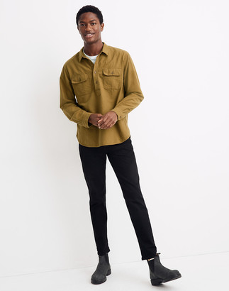 Madewell Moleskin Long-Sleeve Pullover Workshirt