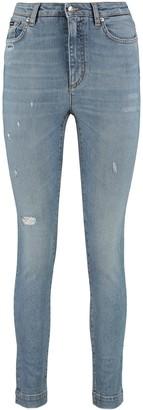 Dolce & Gabbana 5-pocket Audrey-fit Jeans