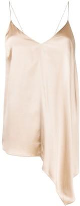 Joseph Asymmetric Silk Cami Top