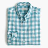 J.Crew Slim Secret Wash shirt in heather gingham