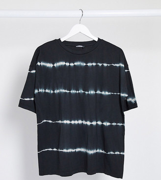 Asos Tall ASOS DESIGN Tall oversized t-shirt in tie dye stripe
