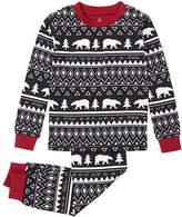 Petit Lem Two-Piece Cabin Holiday Aztec Pyjama Set