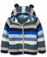 Gap Stripe bear garter sweater