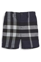 Burberry Infant Boy's 'Sean' Check Print Shorts