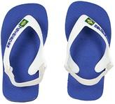 Havaianas Baby Brazil Logo Flip-Flop (Toddler) (Marine Blue) Boys Shoes