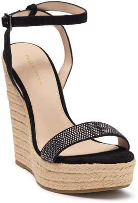 Pelle Moda Only Embellished Platform Wedge Espadrille Sandal