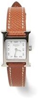 Banana Republic LUXE FINDS | Hermès Brown Heure H TPM Watch