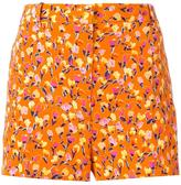 Versace floral print shorts - women - Silk/Acetate - 38