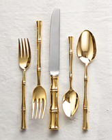 Ricci 20-Piece Gold Bamboo Flatware Service