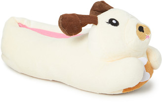 Off-White Chatties Girls' Slippers Dog Dog Slipper - Girls