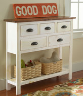 L.L. Bean Rustic Wooden Hall Console