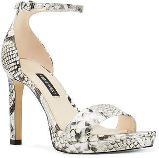 Nine West Edyn Platform Sandals Women Shoes