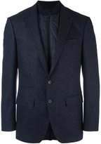 HUGO BOSS quilted inset fitted blazer