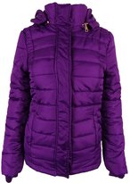 Rampage Womens Hooded Quilted Puffer Coat XS