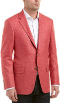 Hickey Freeman Milburn Ii Wool, Silk, & Linen-Blend Sportcoat