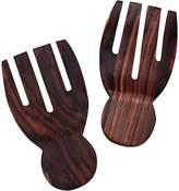 Inartisan Recycled Sono Wood Hand Salad Servers