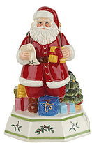Spode Christmas Tree Musical Santa Claus is Coming to Town Figurine