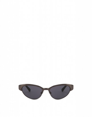 Moschino Cat-eye Metal Sunglasses Woman Black Size Single Size
