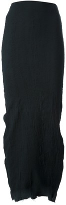 Marc Le Bihan Full Length Pencil Skirt