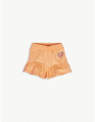 Kenzo Elephant graphic-print cotton-blend shorts 6-36 months