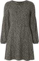 Dorothy Perkins Grey Fit and Flare Dress