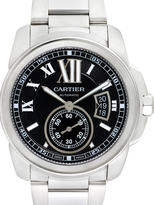 Cartier Vintage Calibre de Stainless Steel Watch, 42mm