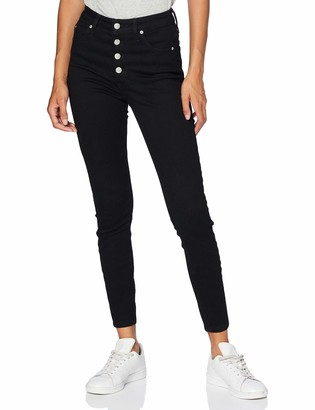 Calvin Klein Jeans Women's HIGH Rise Super Skinny Ankle Straight Jeans