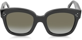 Celine CL41805/S New Audrey Black Acetate Sunglasses