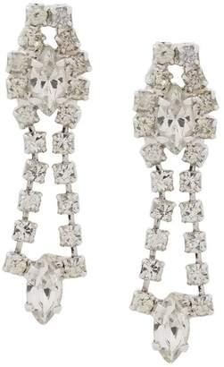 Susan Caplan Vintage 1980s chandelier clip-on earrings