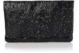 Two-Tone Sequined Clutch