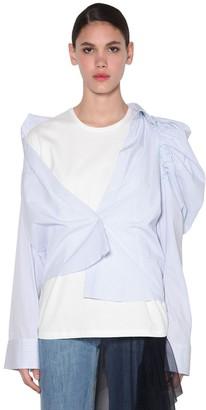 Act N°1 Cotton T-shirt & Asymmetrical Shirt