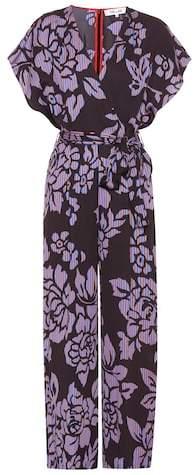 Diane von Furstenberg Floral-printed jumpsuit