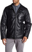 Rogue Men's Leather Racer Jacket