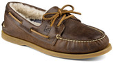 Sperry Authentic Original 2-Eye Genuine Shearling Lined Winter Boat Shoe