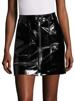 Isabel Marant Lynne Leather Mini Skirt