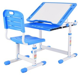 """Isabelle & MaxTM Sabine Study 21.3"""" W Art Desk and Chair Set Isabelle & Max"""
