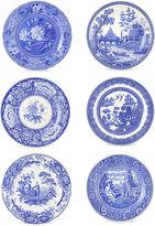 Spode Asst. of 6 Porcelain Georgian Plates
