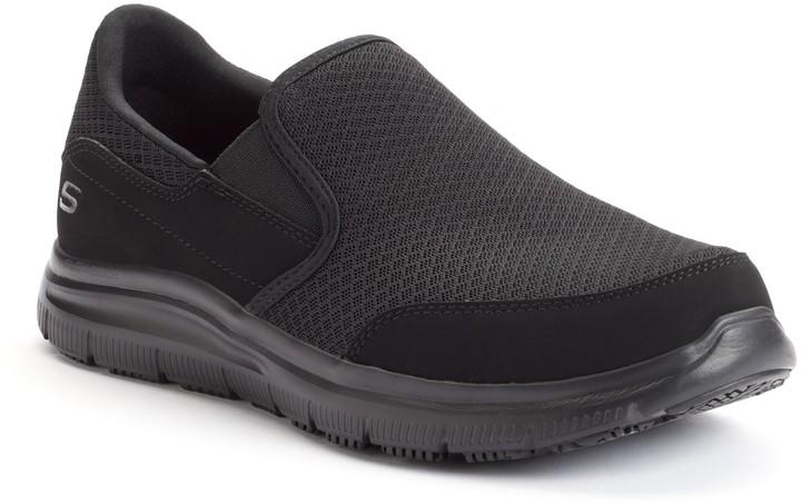 Men's Fit Flex Slip Resistant Relaxed Shoes Advantage Mcallen IWEHD2Y9