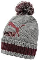 Puma Mens Word Beanie Hat Knitted Snow Winter Warm Accessories