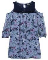Trixxi Woven Cold Shoulder Dress (Big Girls)