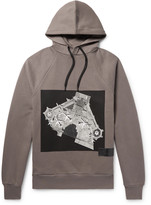 Public School - Cimarron Printed Fleece-back Cotton-jersey Hoodie