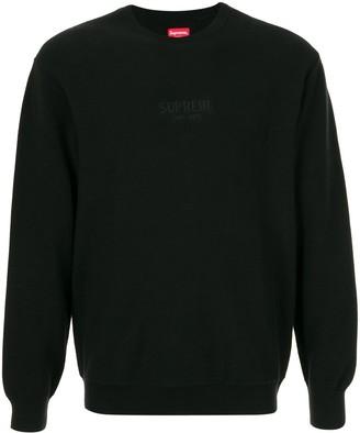 Supreme Pique Crew Neck Sweatshirt
