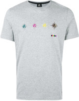 Paul Smith logo print T-shirt - men - Organic Cotton - S