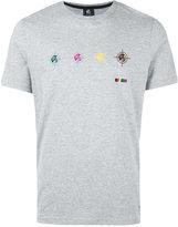 Paul Smith logo print T-shirt - men - Organic Cotton - XXL
