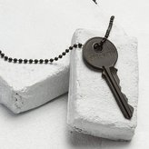 THE GIVING KEYS - Classic Strength Necklace - Matte Black